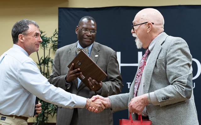 Henderson faculty honored for years of service