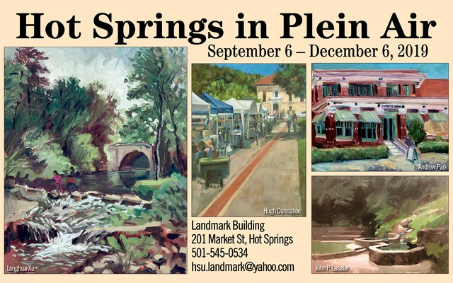Hot Springs in Plein Air