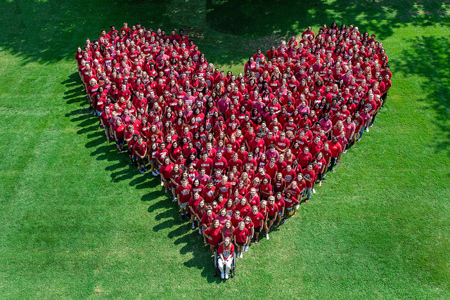 Freshman heart photo